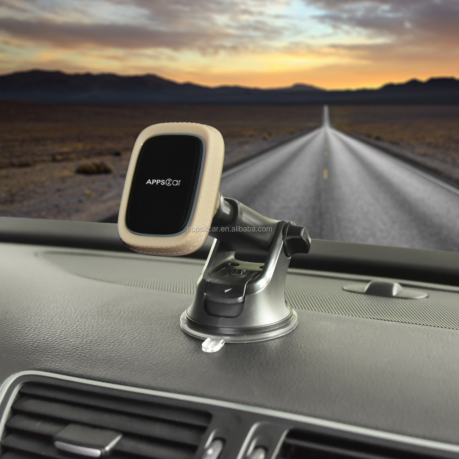 Apps2car Mobile Phone Accessories Dashboard Car Phone Holder Suction  Car Magnetic Phone Holder