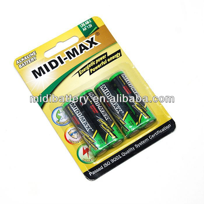 Max Power alkaline aa battery