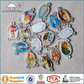 Saint pictures rosary centerpiece religious blank pendants buy saint pictures rosary centerpiece religious blank pendants aloadofball Image collections