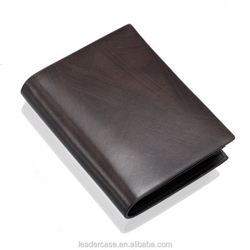 Genuine leather wallet men wallet leather in small size