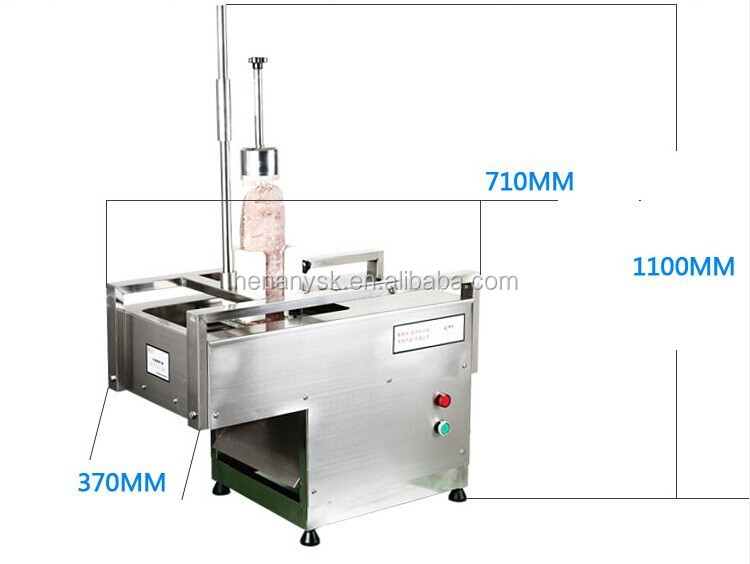 Wholesale Factory Price Stainless Steel Electric Meat Pork Beef Cutting Mutton Meat Slicer Machine