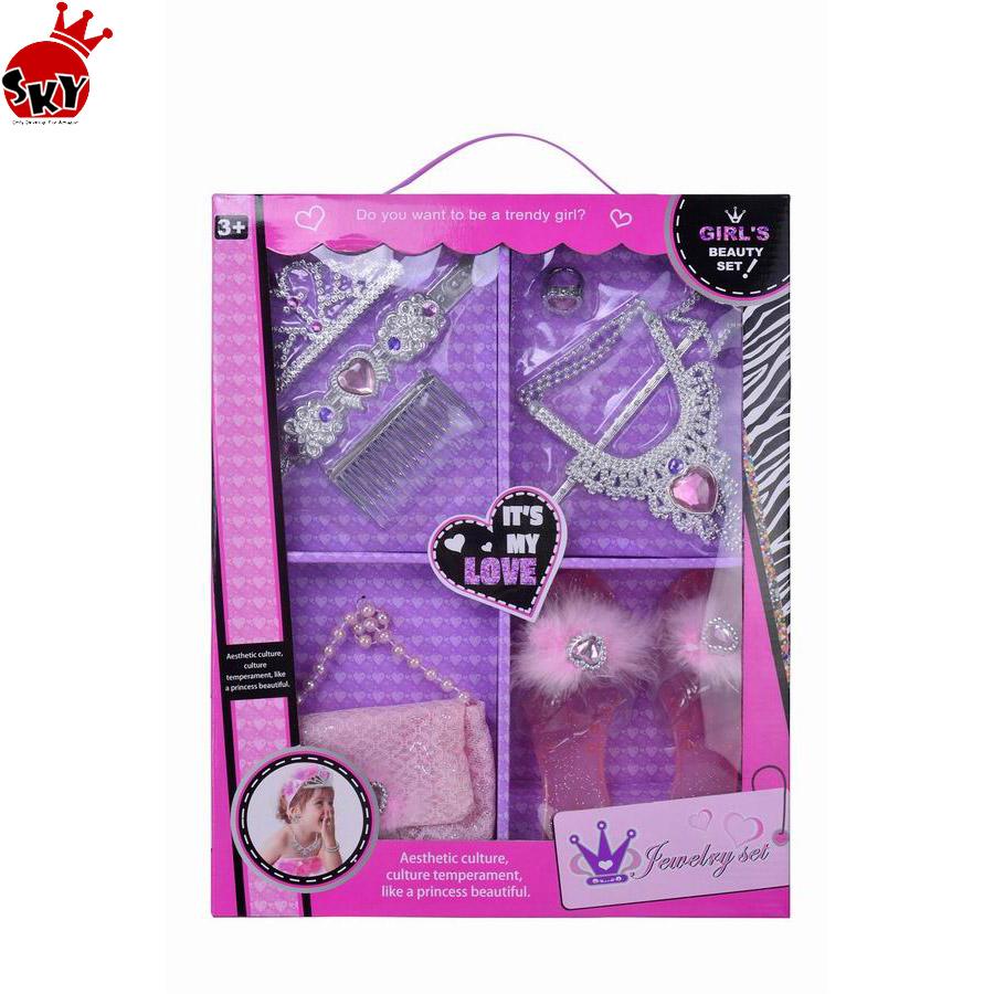 Belleza Kit De Juguete Nuevo De Moda De Chicas Belleza Conjunto De Juguetes Juegos De Vestir Para Chicas Belleza Conjunto De Juguete Para Los Niños