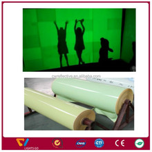 self-adhesive glow in the dark vinyl/Glow IMO sign film/Lumine Vinyl Film