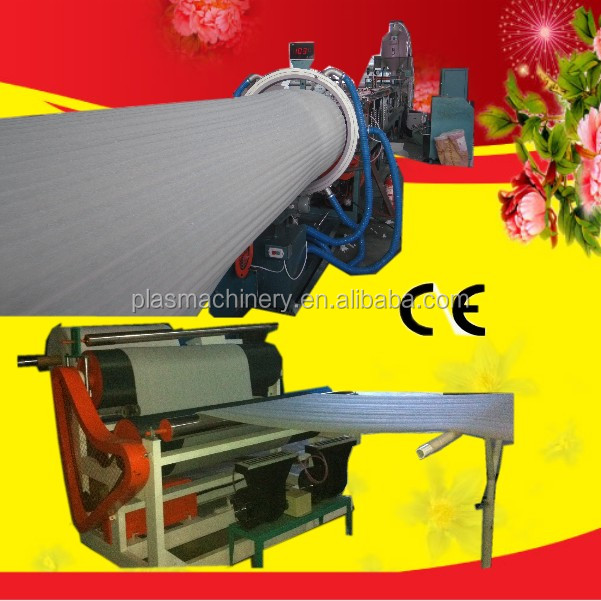 Single Screw LDPE Foam Sheet Making Plant for making EPE foam film