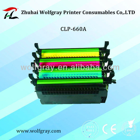 Hot selling for Samsung printer part CLP-660A toner cartridge