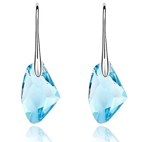 Fashion Pendientes 2016 Ax Austrian Brincos Crystal Earrings Women Jewelry CE150 F0046