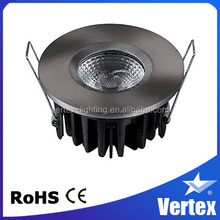 8w housing warm white cob rohs spring clip for downlight