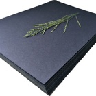 Wood pulp black cardboard sheets for jewelry box