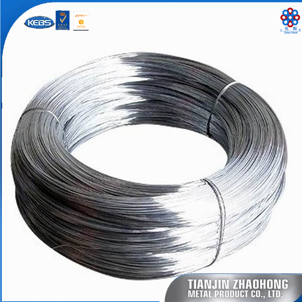 Manufacture price galvanized steel coil wire for farm fencing wire