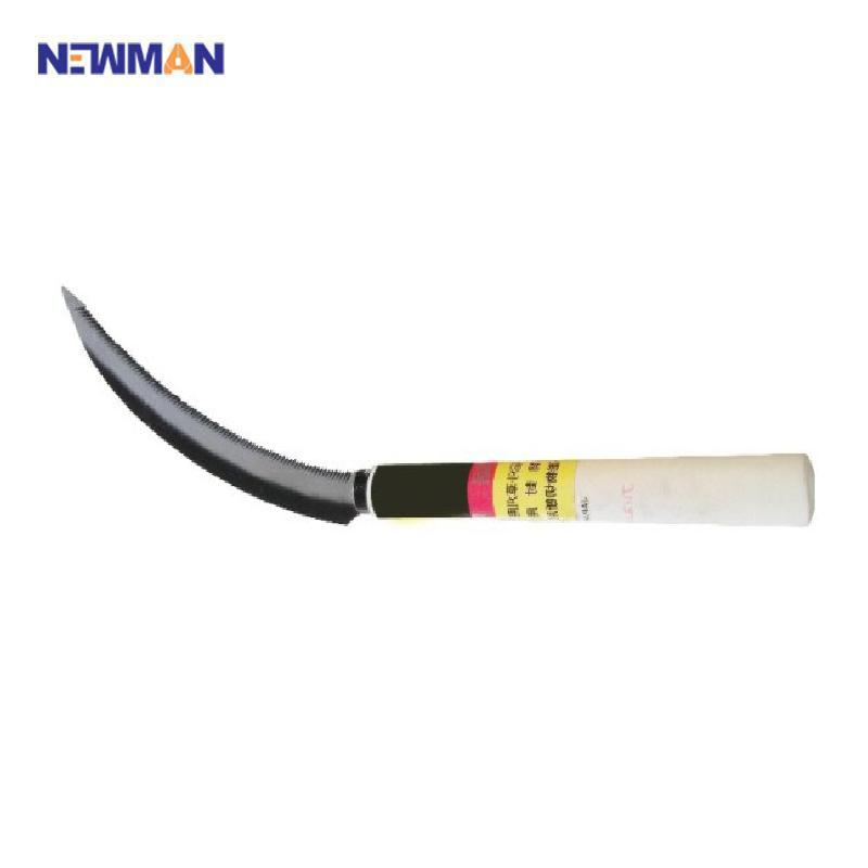 NEWMAN Africa market popular types of farm tool hand palm sickle with heat-treatment blade