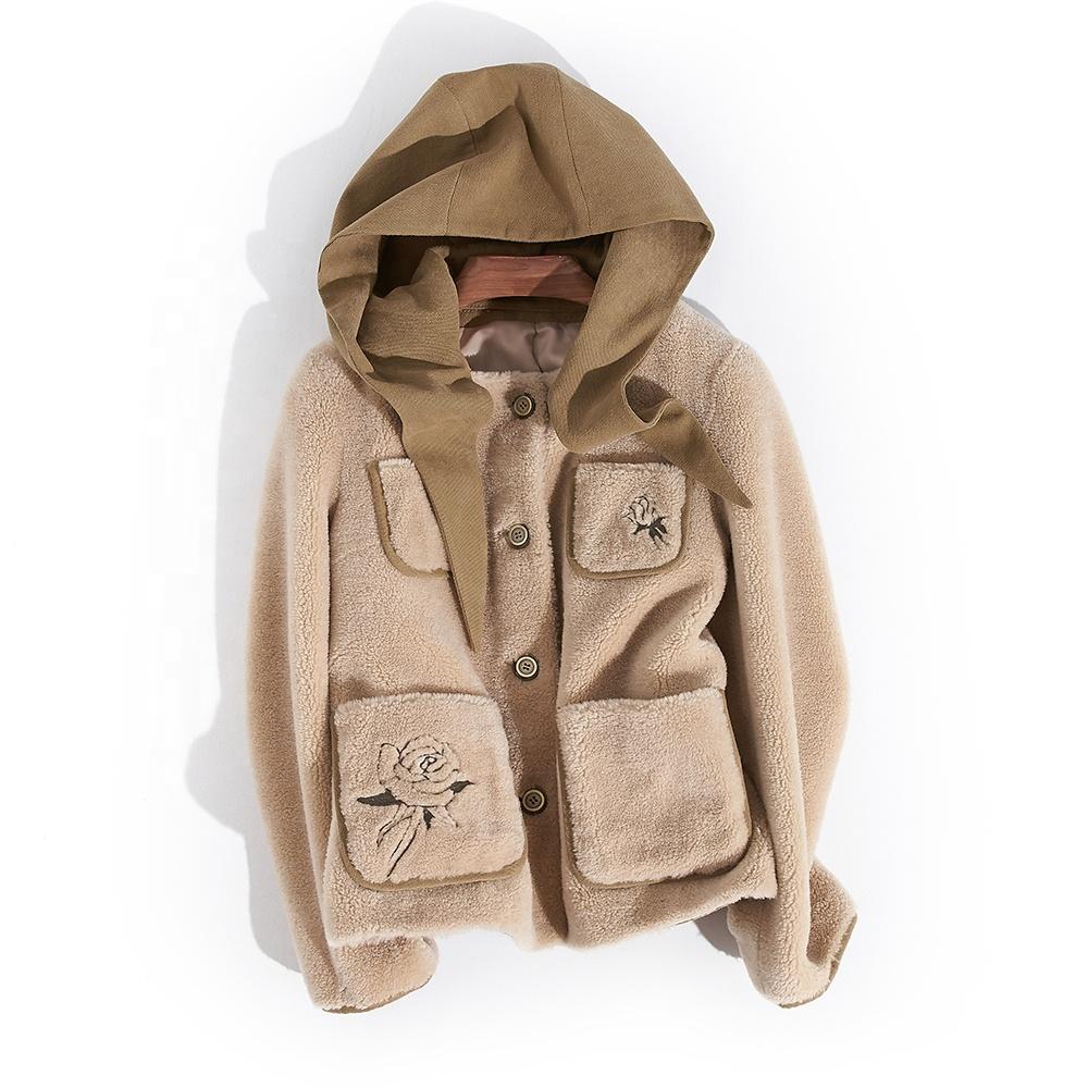 Perfect Fabric Girl Coat Shearling Bomber Jacket фото