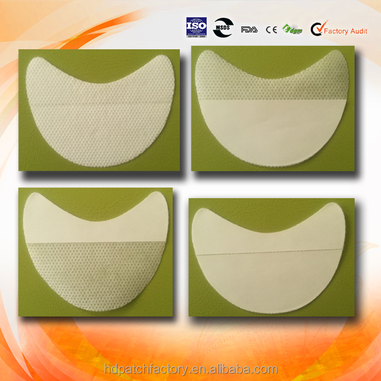 Manufacturer supply hand free nnon woven fabric eye shadow shields