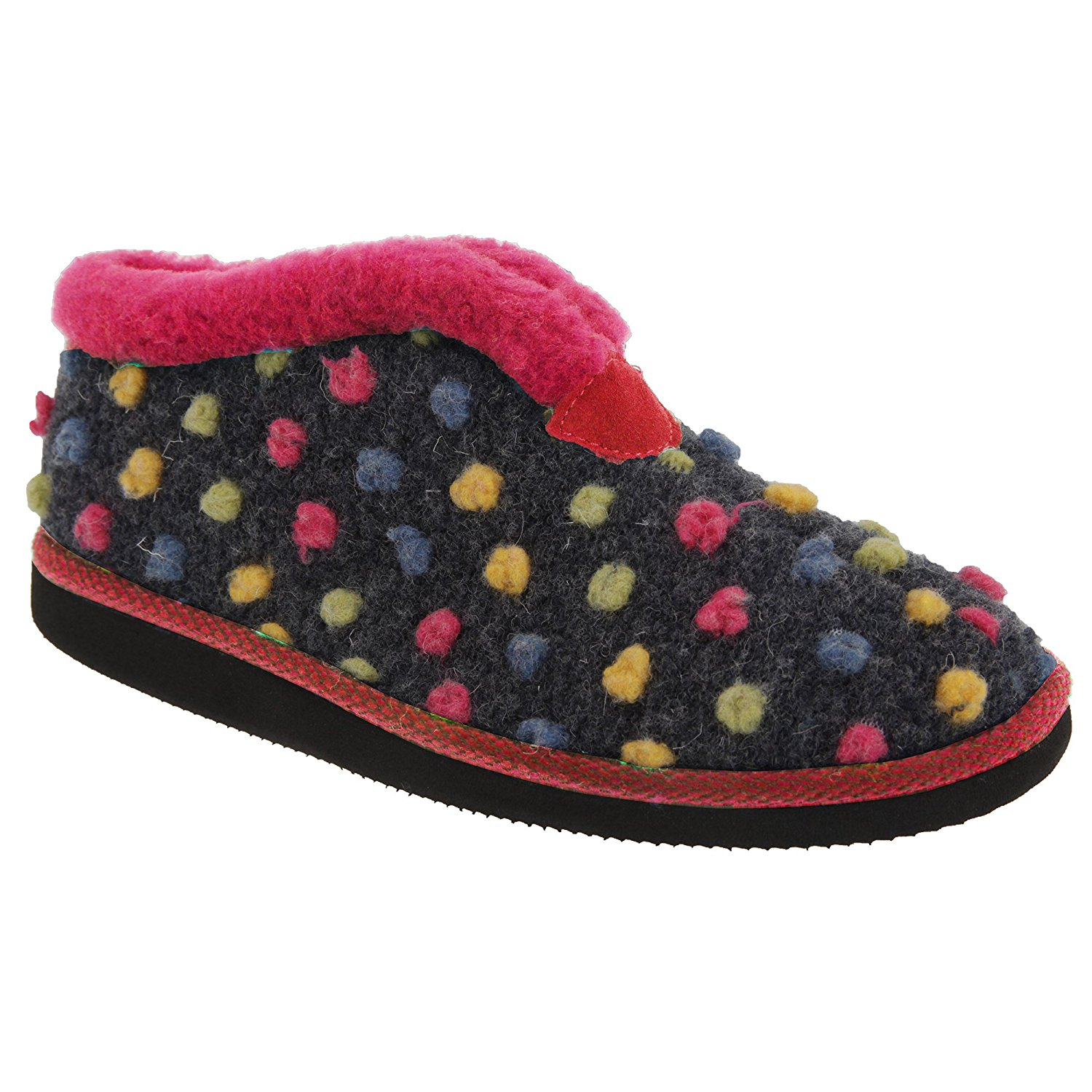 289b850b3ce Get Quotations · Sleepers Womens Ladies Tilly Lightweight Thermal Lined  Bootee Slippers