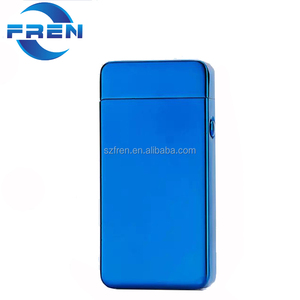 Fren FR-601 Metal Electronic USB Rechargeable Double Arc Falmeless Lighter Tesla Cigarette Lighter