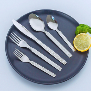 Factory Production Dinner Cutlery Set 72 Pcs Stock