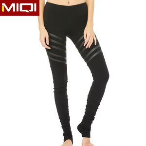 Quality women running compression yoga leggings fitness activewear