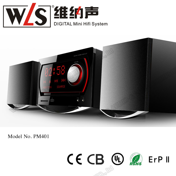 WLS TOP sound system 2.0 home theater with updated CE CB ROHS quality certifications PM301A