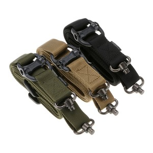 "Tactical 1 or 2 Point Multi Mission 1.25"" Rifle Sling Quick Detach Swivel"