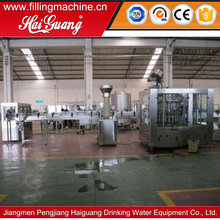 Professional factory alu can filling and sealing machine/hot juice bottling equipment