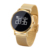 Android iOS System Smart Watch OLED Waterproof Bluetooth Smartwatch Gold