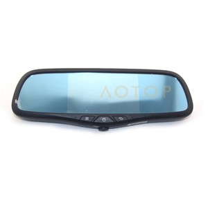 hd 720P 5 inch dual camera car dvr rearview mirror with wide angel lens