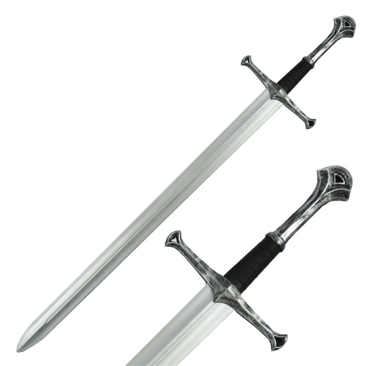 Realistic LARPGEARS Cosplay PU Foam Medieval Prop Weapon Sword Toy