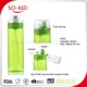 600ml Tritan water bottle with sprayer dual function sip and spray water bottle