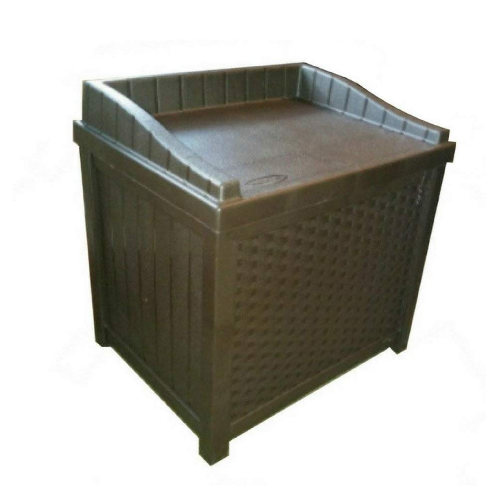 TSR Outdoor Storage Box Garden Storage Box with Seat Garden Outdoor Patio Furniture Storage Box Cushion Storage and Garden Tools Solution and E-Book