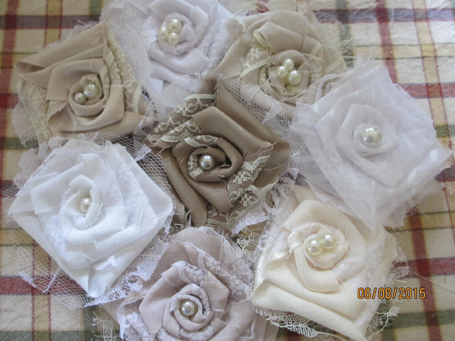 Cheap flowers shabby chic find flowers shabby chic deals on line at get quotations 5 shabby chic wedding accent flowers rustic chic bouquet flowers shower favors izmirmasajfo