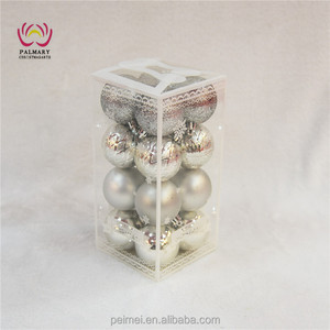 5 cm silver ornaments, cheap Christmas gifts, new style wholesale Christmas ornament suppliers