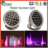 24W fountain waterproof light and RGB led fountain light