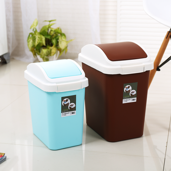 Household Kitchen Bathroom Pp Plastic Trash Can - Buy Plastic Trash  Can,Bathroom Trash Can,Kitchen Trash Can Product on Alibaba.com