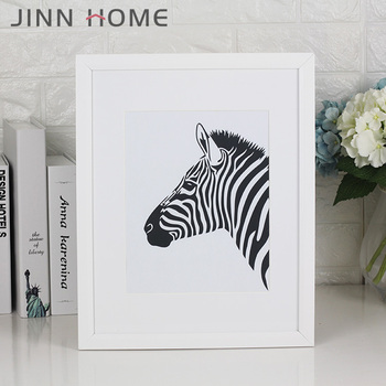Zebra Artistic 11 X 14-inch Picture Photo Frame With Mount For 8 X ...