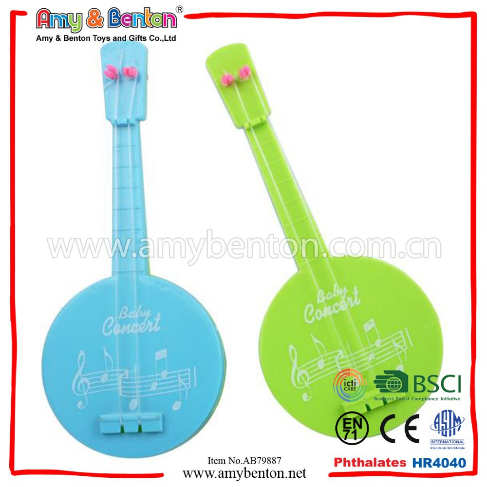 Musical Instrument Toy Plastic Mini Guitar For Kid