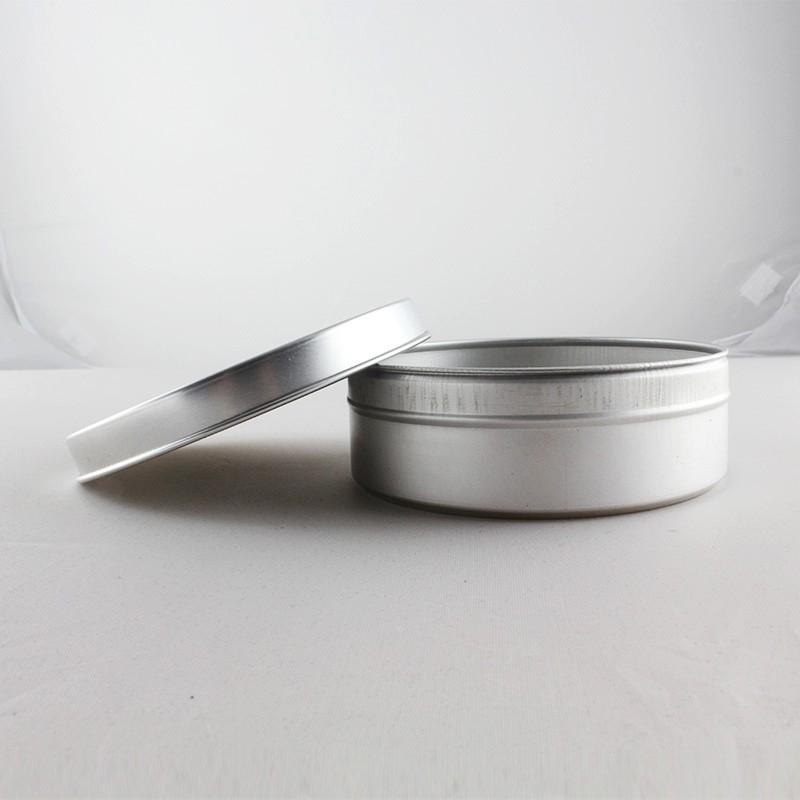 10.6 oz 300 ml slip cap met rolzoom aluminium pot voor cosmetische verpakking aluminium kaars tin-108*37 (h) mm