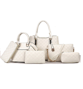 3214f52c1a Y31 ALIBABA Hot sale 6pcs set bag Designer handbags for women handbags with  high quality leather