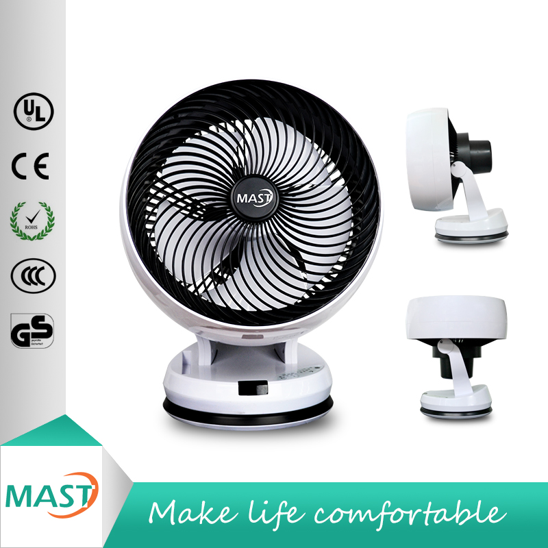 12 inch height adjustable table stand fan r remote control for korea market
