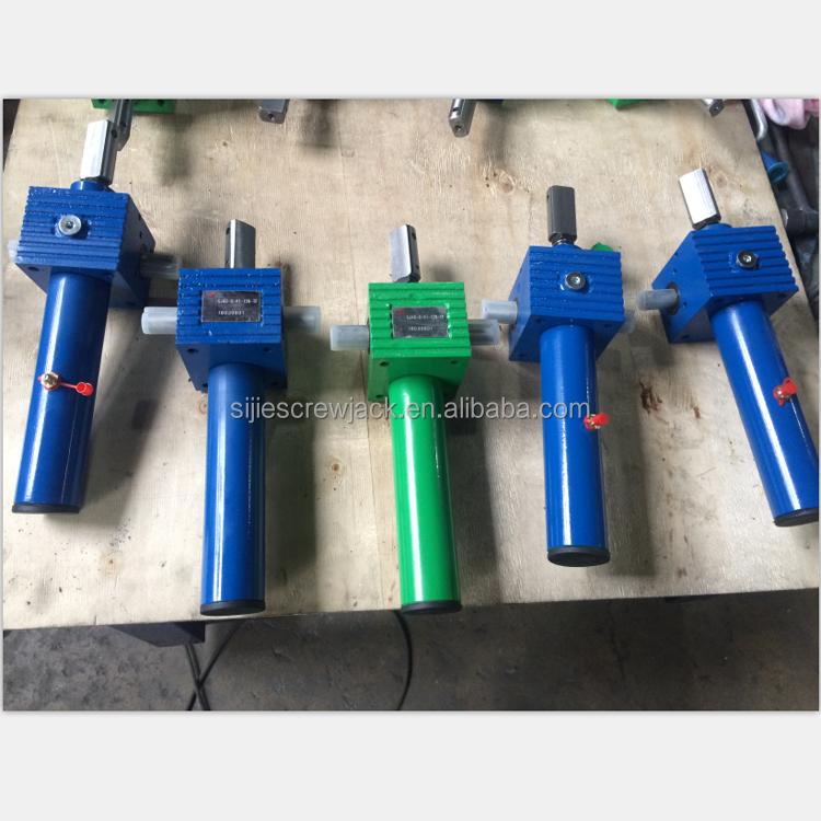 Mini Small cubic elctric screw jack or manual operated screw jack