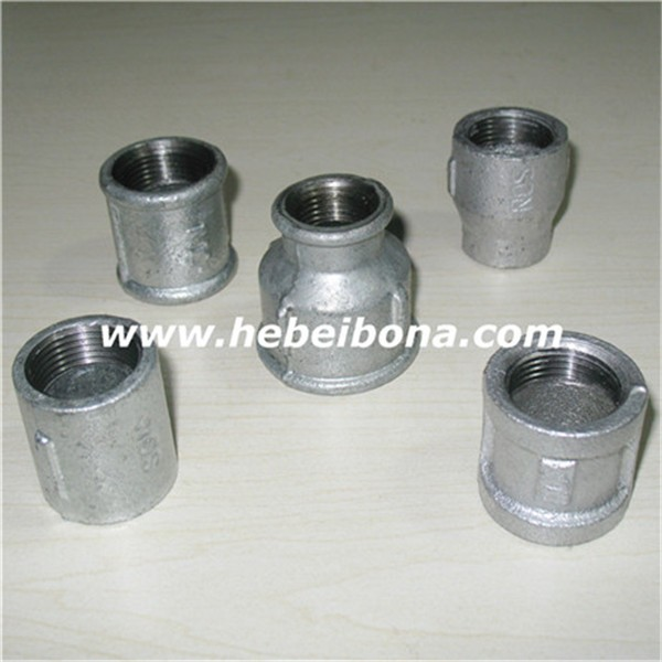 Malleable Iron Pipe Fittings Galvanized Reducing Socket