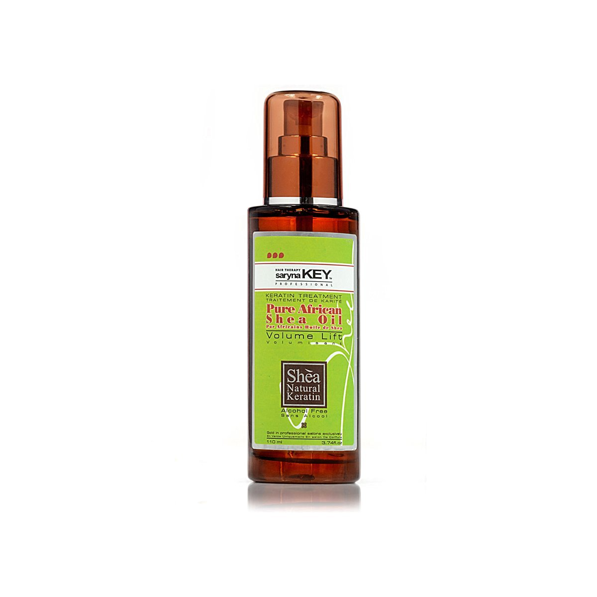 Saryna Key Volume Lift-Pure African Shea Oil, 3.74 Ounce
