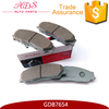 Advanced Japan no noise ceramic brake pads for BYD S6 OEM:GDB7654