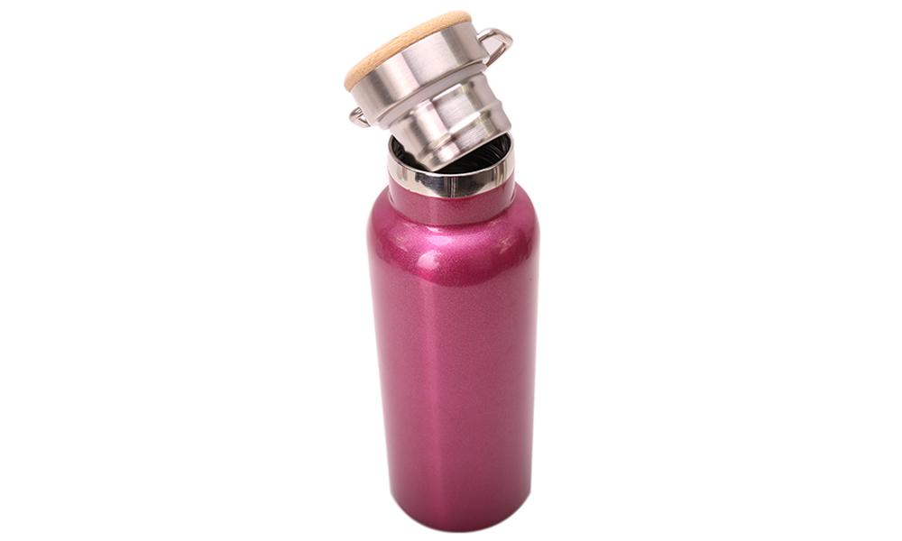 Marca personalizada Impressão Potável Quente Parede Dupla Com Isolamento A Vácuo de Aço Inoxidável Garrafa de Água de Esportes Com Bpa Livre