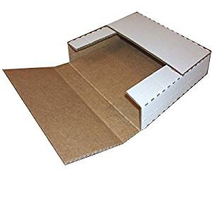 50 Variable Depth 45 RPM Record Album Mailer Boxes Bookfolds