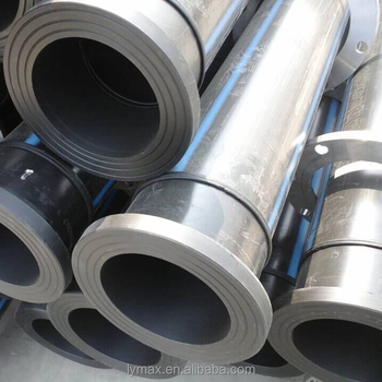 Plumbing Material 12 Inches High Density Polyethylene Hdpe Pipes For