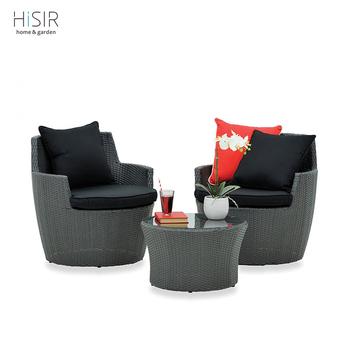 Home Goods Wicker Bistro Set E Saving 3pcs Patio Furniture