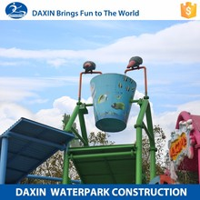DAXIN Water Flow Fountain Home Decor Build Water Park