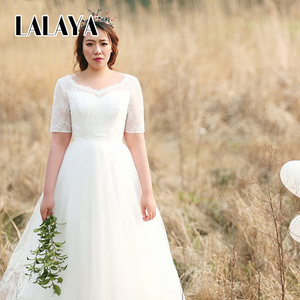 Large size Long tail The New Add fertilizer Increase Wedding dress