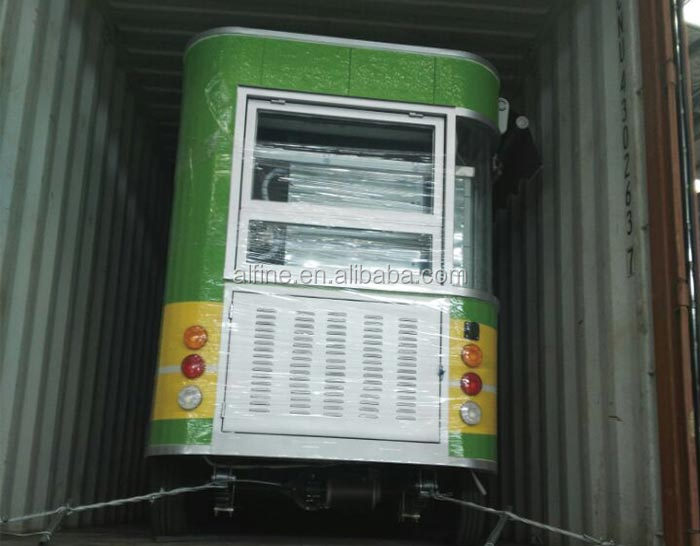 China manufacturer Factory sale food truck refrigerator freezer