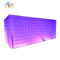 inflatable show LED lighting party tent LIGHT advertising inflatable for sale