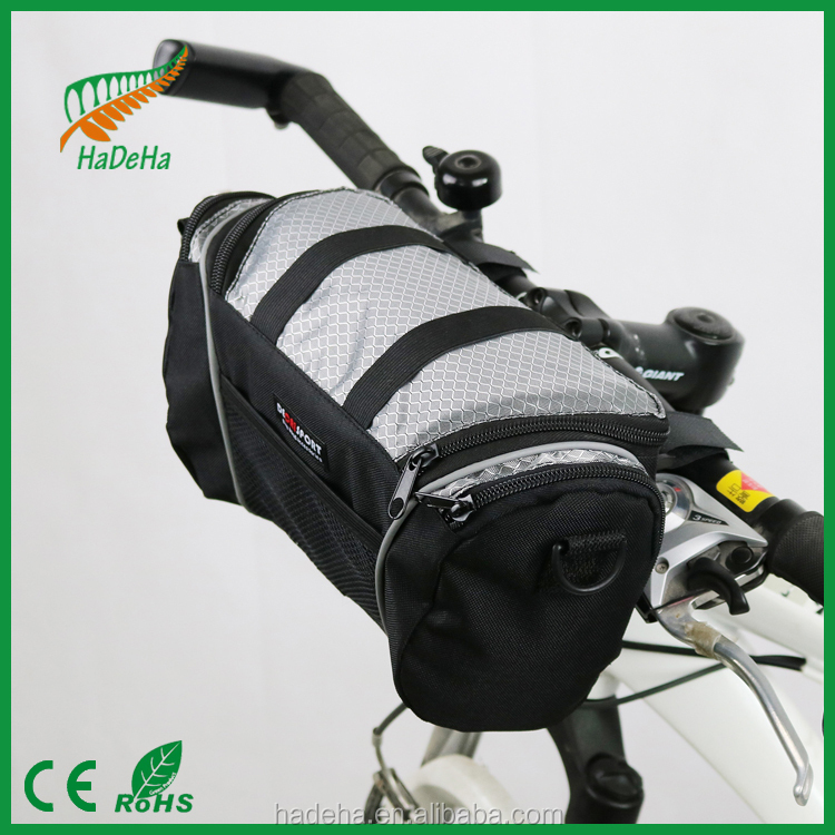 musette cycling bag/ waterproof travel saddle front carry bike bag accessory/bike bag